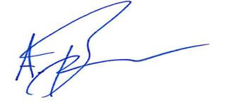 Unterschrift Bürgermeister Braun