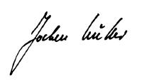 Bürgermeister Müller Unterschrift